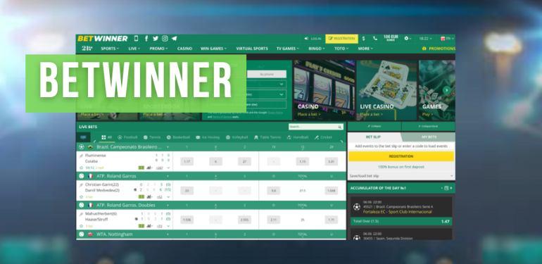 Betwinner site